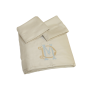 Cotton Sateen Sheets Sand - King